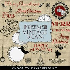 Far Far Hill: Freebies Vintage Kit