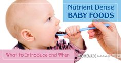 Wondering what to feed your baby and when? Do you want to make sure what they eat first is nutrient-dense? Six years ago when my identical twin girls were ...