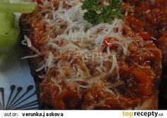 Cuketová pochoutka recept - TopRecepty.cz Canning Food Preservation, Preserving Food, Russian Recipes, Canning Recipes, Preserves, Lasagna, Hamburger, Cabbage, Food And Drink