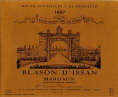 Blason d'Issan - Château d'ISSAN