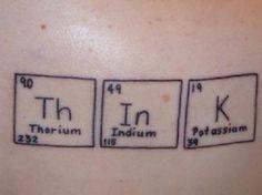 Th In K  #chemistry #elements #minimalism #tattoo