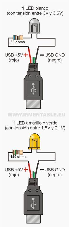 LEDs al USB: todos los ejemplos - Taringa!