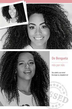 3 texturas de cabelo natural pra você escolher a que mais se adapte ao seu cabelo!