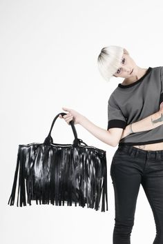 LEATHER & DENIM | fall makes us excited about all sorts of things, but these two are definitely at the top #stu #feelstu #leather #bag #madeinitaly #fw15 Fall Winter 2015, Leather Bag, Campaign, Denim, How To Make, Tops, Women, Fashion, Moda