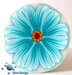 Turquoise flower cane | Flickr - Photo Sharing!