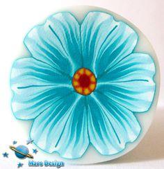 Turquoise flower cane | Flickr - Photo Sharing!