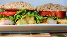 Healthy Shrimp Po'Boy Recipe - It Can Be Done! - recommended by Deb