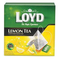 Loyd Lemon Tea, 50-Pack at Big Lots.