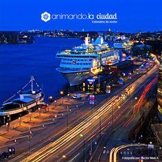 animando.la ciudad, Estocolmo de noche.