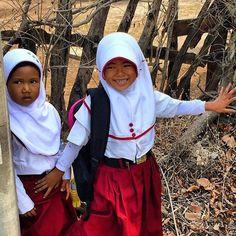 School girls in Lombok