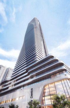 Pinnacle One Yonge by Hariri Pontarini Architects