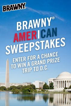 No purchase necessary. Open to legal residents of the 50 U.S. & D.C, who are 18 years of age or older as of the date of entry. Void where prohibited by law. The Brawny® American Sweepstakes begins 6/26/2017 & ends 7/31/2017. Sponsored by Georgia-Pacific Consumer Products LP. For Official Rules, visit www.brawny.com/american