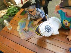 Yep. We LOVE playing pirates!