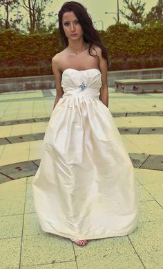 Cherie Wedding Gown by ElizabethLara on Etsy, $598.00