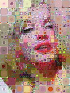 Colorful Art colorful art portrait digital modern