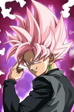 goku black ssj pink