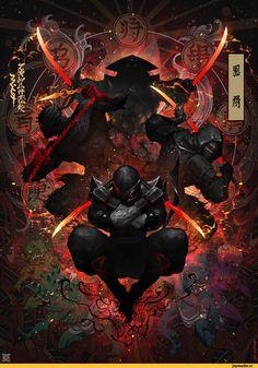 art,арт,красивые картинки,ninja,mist XG