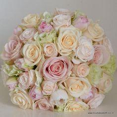 Bruidsboeket-pastel