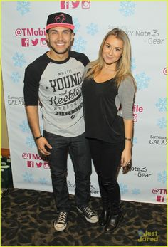 Carlos Pena & Alexa Vega: KIIS FM Jingle Ball