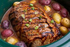 For a traditional Sunday dinner without all the fuss, this slow cooker Pot Roast with Vegetables recipe fits the bill! Check out more Crock-Pot recipes that call for just five ingredients or less. Crock Pot Recipes, Pot Roast Recipes, Slow Cooker Recipes, Beef Recipes, Crockpot Meals, Dinner Recipes, Best Tri Tip Recipe Crock Pot, Health Recipes, Crockpot Carrots