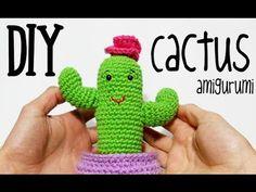 DIY Cactus amigurumi crochet/ganchillo (tutorial) - YouTube