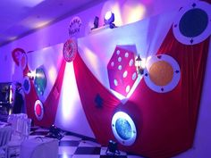 Fiesta tema Casino creada por #aloneartistica #fiesta #fiestatema