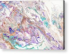 Oriental Treasures Fragment Abstract Fluid Acrylic Painting Metal Print by Jenny Rainbow Thing 1, Fluid Acrylics, Acrylic Sheets, Metallic Paint, Art Techniques, Abstract Pattern, Fine Art Photography, Clear Acrylic, Fine Art America
