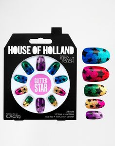 #HouseOfHolland Nails By Elegant Touch - Glitter Stars $17.04
