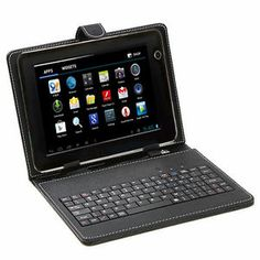 "iRulu 7"" Android 4.0 A10 1.2GHz 512M Capacitive Tablet PC Keyboard&8GB SD Card"