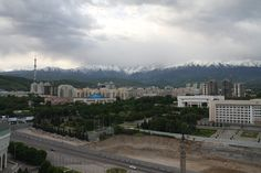 Almaty from above