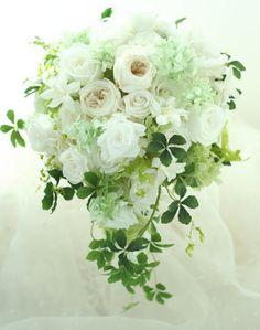 ブーケ プリザーブドのオールドローズとブーケ交換の儀式  アルジェントASO様へ : 一会 ウエディングの花