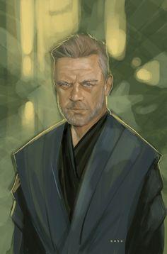 Luke Skywalker fan art