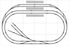Free Track Plans for your model railway layout, railroad or train set. Designs, ideas, layouts, and prototype drawings of railway stations N Scale Train Layout, Model Train Layouts, Eddie Stobart Trucks, Train Miniature, Model Training, N Scale Model Trains, Model Railway Track Plans, Train Activities, Standard Gauge