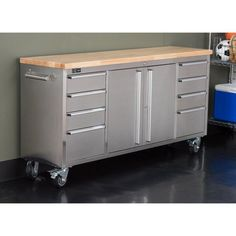 Trinity 72 in. Rolling Workbench - TLS-7204