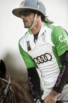 Adolfo Cambiaso, Argentinian polo player, b. Equestrian Outfits, Equestrian Style, Adolfo Cambiaso, Sports Advertising, Riding Hats, Polo Match, Sport Of Kings, Marco Polo, Polo Club