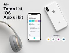Helio to-do list IOS mobile app ui k by Studio S on Best Photoshop Actions, Photoshop Design, Photoshop Tutorial, App Landing Page, Ios Ui, Productivity Apps, Mobile App Ui, User Interface Design, Ui Kit