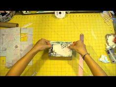shabby altered  boxes   Altered Cigar Box Start to Finish Mixed Media/ Shabby Chic - YouTube