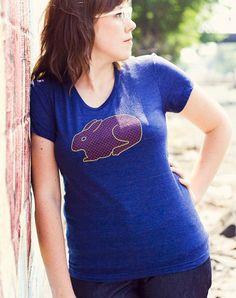 Rabbit T-Shirt by flytrap on Etsy
