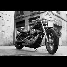 Motorcycles in Black & White