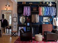 Looking for Living Space ideas? Browse Living Space images for decor, layout, furniture, and storage inspiration from HGTV. Reach In Closet, Layout, Closet Bedroom, Master Closet, Master Suite, Shop Front Design, Store Design, Other Rooms, Stores