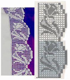 crochet border filet