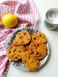 Koggetjes met gezouten karamel en citroen