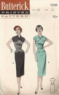 ~~~ Be sure to visit our shop for more beautiful vintage patterns, clothing, jewelry, and accessories at
