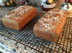 Make and share this 100% Whole Grain Wheat Bread recipe from Genius Kitchen.