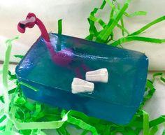 "Flamingo Soap--""Flock To The Bath"" on Etsy"