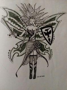 Fairy Warrior doodle