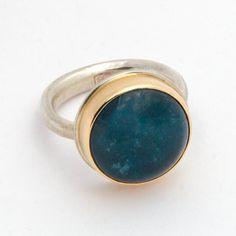Medium Green/Blue Tourmaline - Jamie Joseph Ring