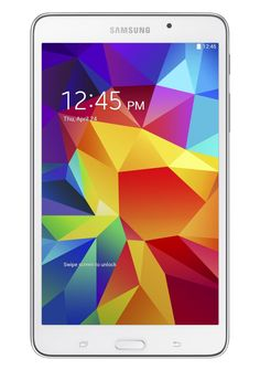 Samsung Galaxy Tab 4 (7-Inch, White) :   Android 4.4 Kit Kat OS, 1.2 GHz quad-core processor   Comes with over $300 of free content and services