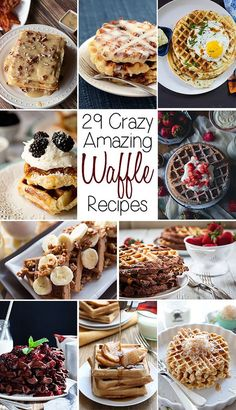 twenty nine amazing waffle recipes you need to try