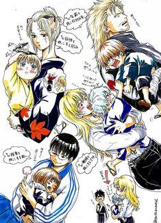 Gintama Funny, Okikagu, Funny Comics, Doujinshi, Vignettes, Anime, Drawings, Haha, Cute